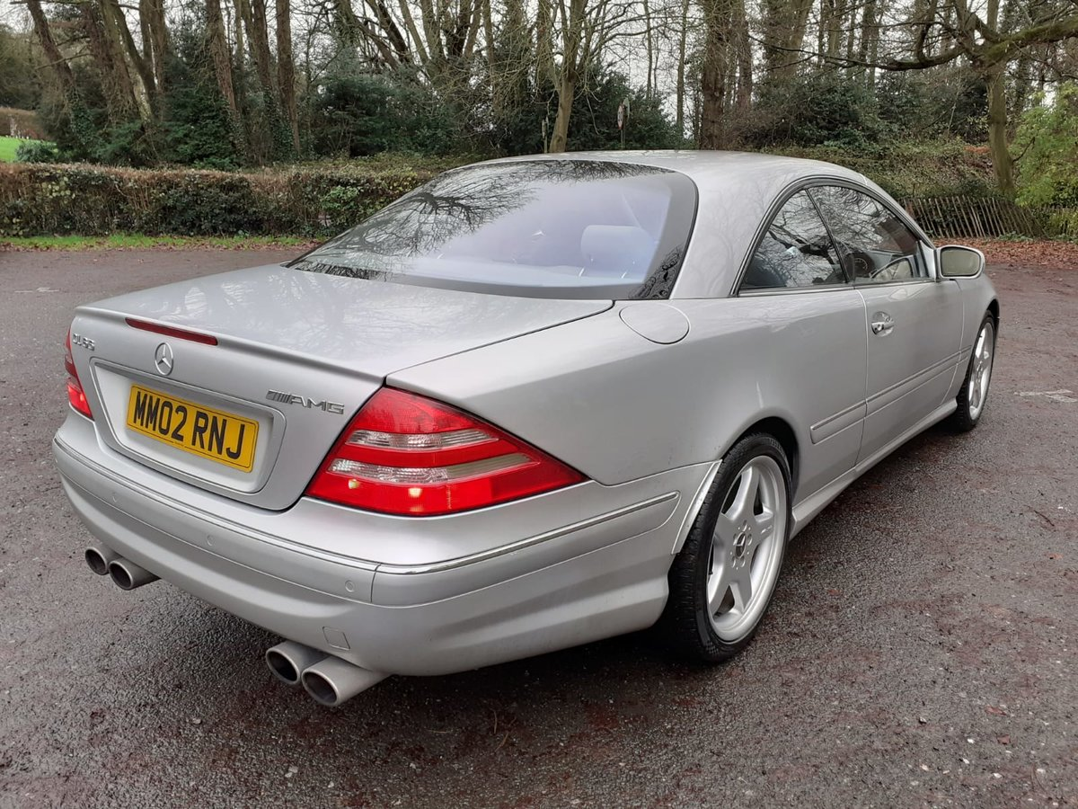 2002 Mercedes Cl55 55 amg 5.4v8 in excellent condition For Sale (picture 3 of 6)
