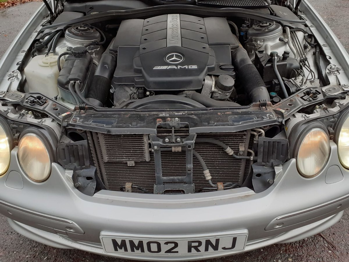 2002 Mercedes Cl55 55 amg 5.4v8 in excellent condition For Sale (picture 6 of 6)
