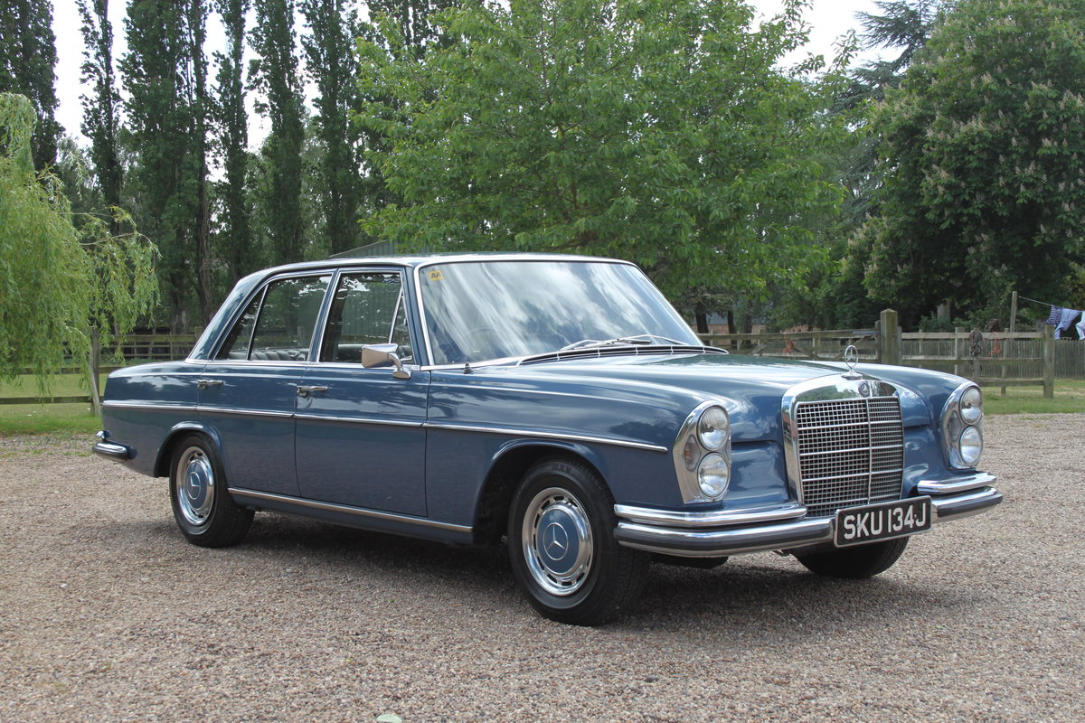 1971 Mercedes 280SE 69000 miles 1 owner FMBSH For Sale (picture 1 of 6)
