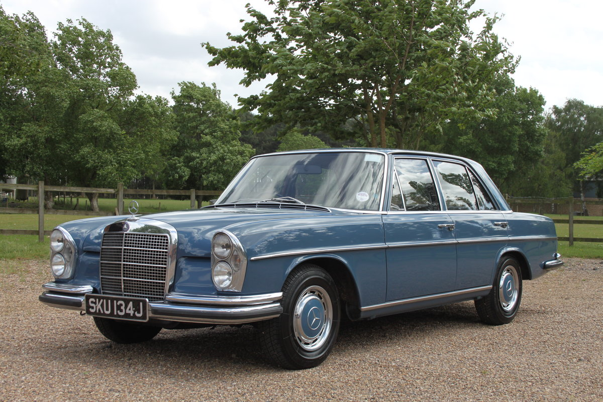 1971 Mercedes 280SE 69000 miles 1 owner FMBSH For Sale (picture 2 of 6)