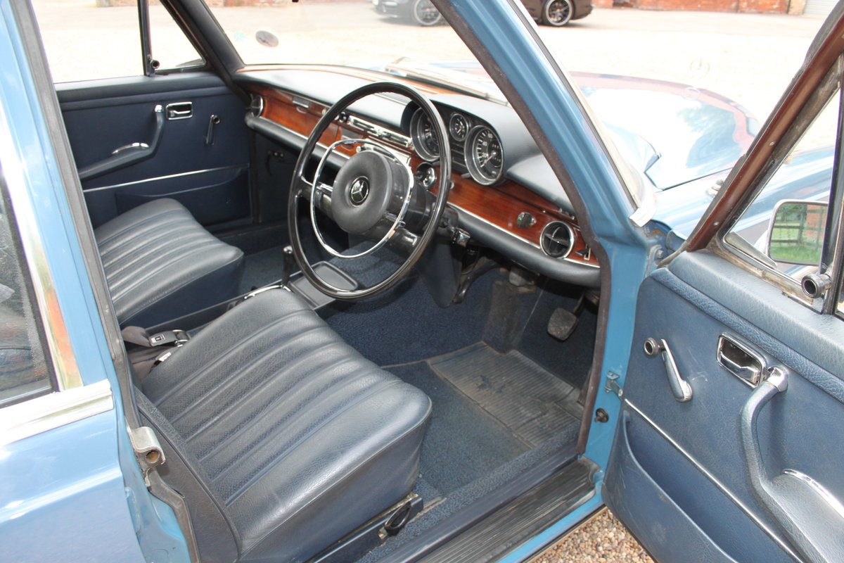 1971 Mercedes 280SE 69000 miles 1 owner FMBSH For Sale (picture 5 of 6)