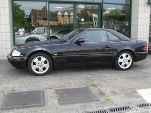 1999 Mercedes 280SL 40K MILES AND ONLY TWO OWNERS FROM NEW For Sale