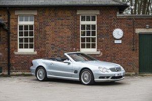 2003 Mercedes-Benz SL55 AMG Kompressor A Convertible