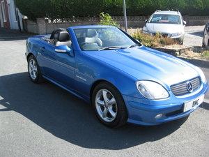 2003 03-reg Mercedes-Benz SLK230 Kompressor 2.3 auto