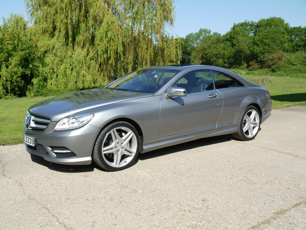 2014 Mercedes CL500 4.7 V8 7G-Tronic Auto Start-Stop BlueEFF For Sale (picture 1 of 6)
