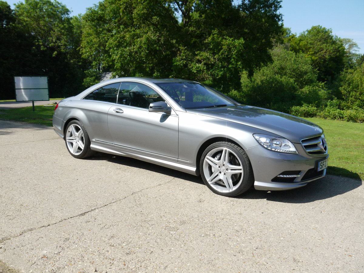 2014 Mercedes CL500 4.7 V8 7G-Tronic Auto Start-Stop BlueEFF For Sale (picture 3 of 6)