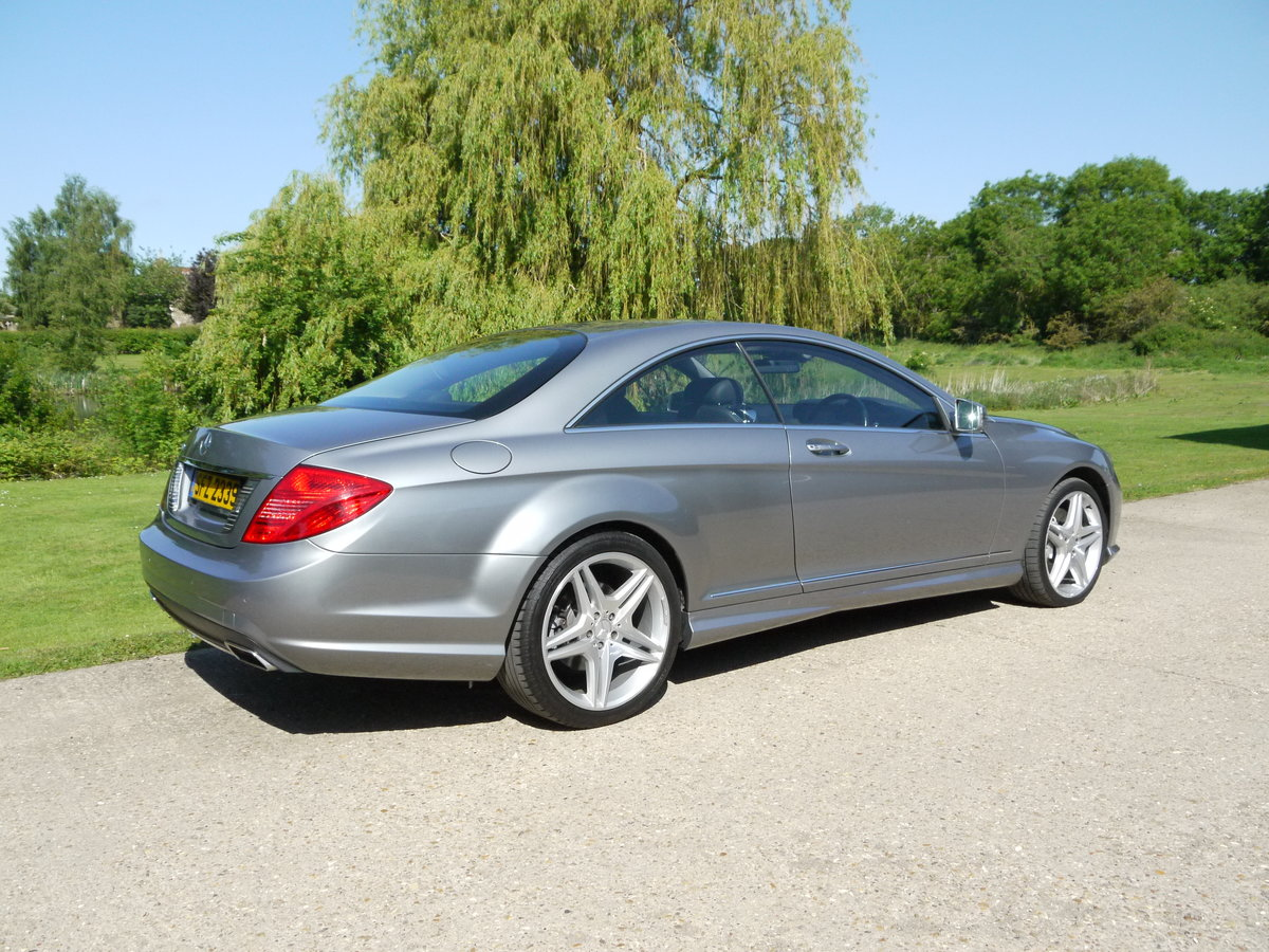 2014 Mercedes CL500 4.7 V8 7G-Tronic Auto Start-Stop BlueEFF For Sale (picture 4 of 6)