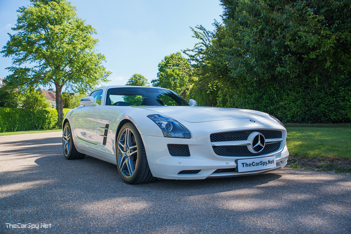 2011 Mercedes Benz SLS AMG Coupe - Low Miles! For Sale (picture 1 of 6)