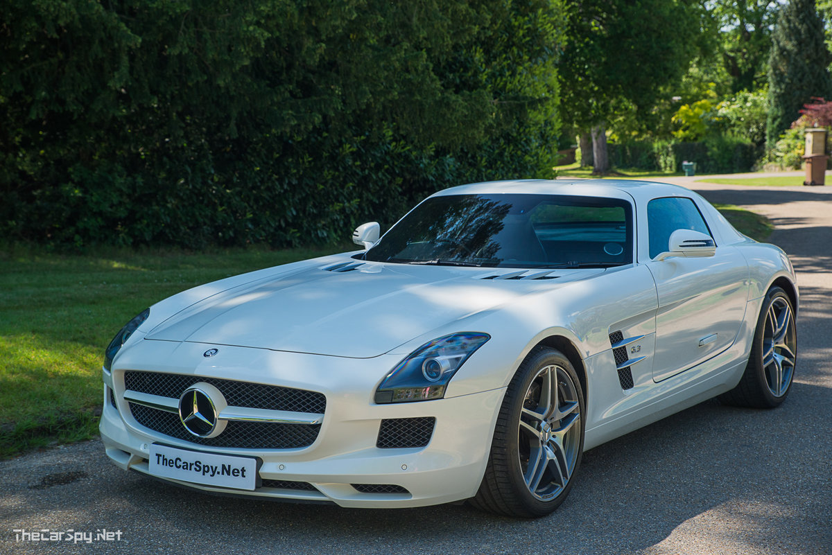 2011 Mercedes Benz SLS AMG Coupe - Low Miles! For Sale (picture 2 of 6)