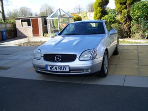 f FABULOUS 2000 SLK 230K LADY OWNER FROM 2008 68K FSH
