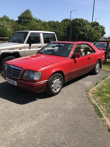 1993 93 (K) Mercedes 320 CE (last owner since 1995!)