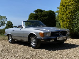 1984 Mercedes Benz 280 SL. Last Owner 18 Years For Sale