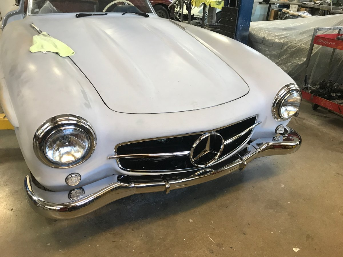 1957 Mercedes Benz 300SL Gullwing For Sale | Car And Classic