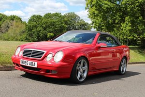 Mercedes CLK 320 2000 - To be auctioned 26-06-20