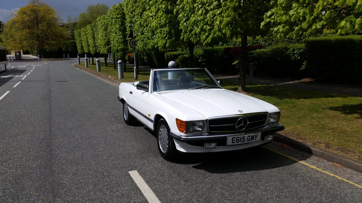 1987 Mercedes 420 SL R107 For Sale (picture 2 of 6)