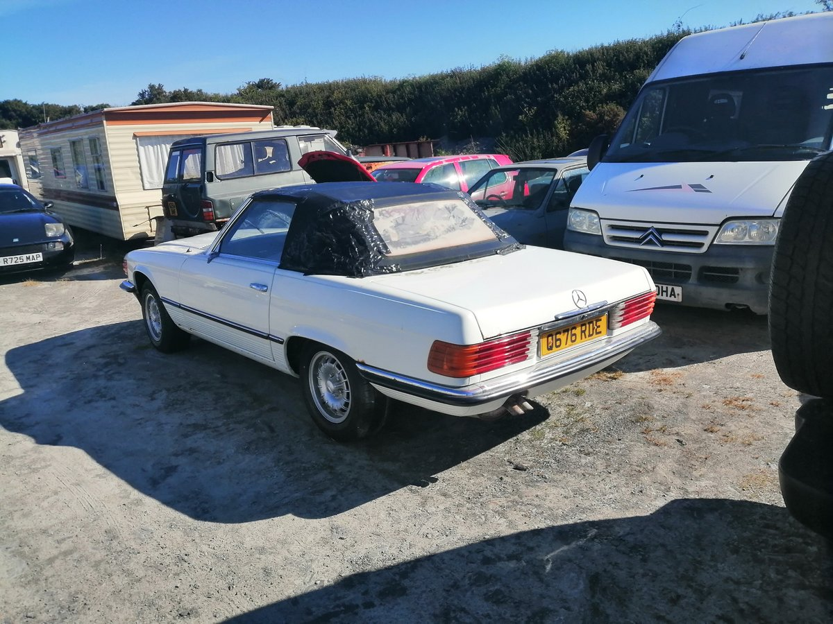 1971 Mercedes 350SL R107  light easy project For Sale (picture 2 of 3)