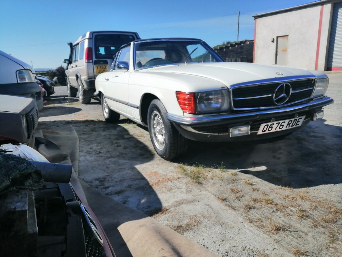 1971 Mercedes 350SL R107  light easy project For Sale (picture 3 of 3)