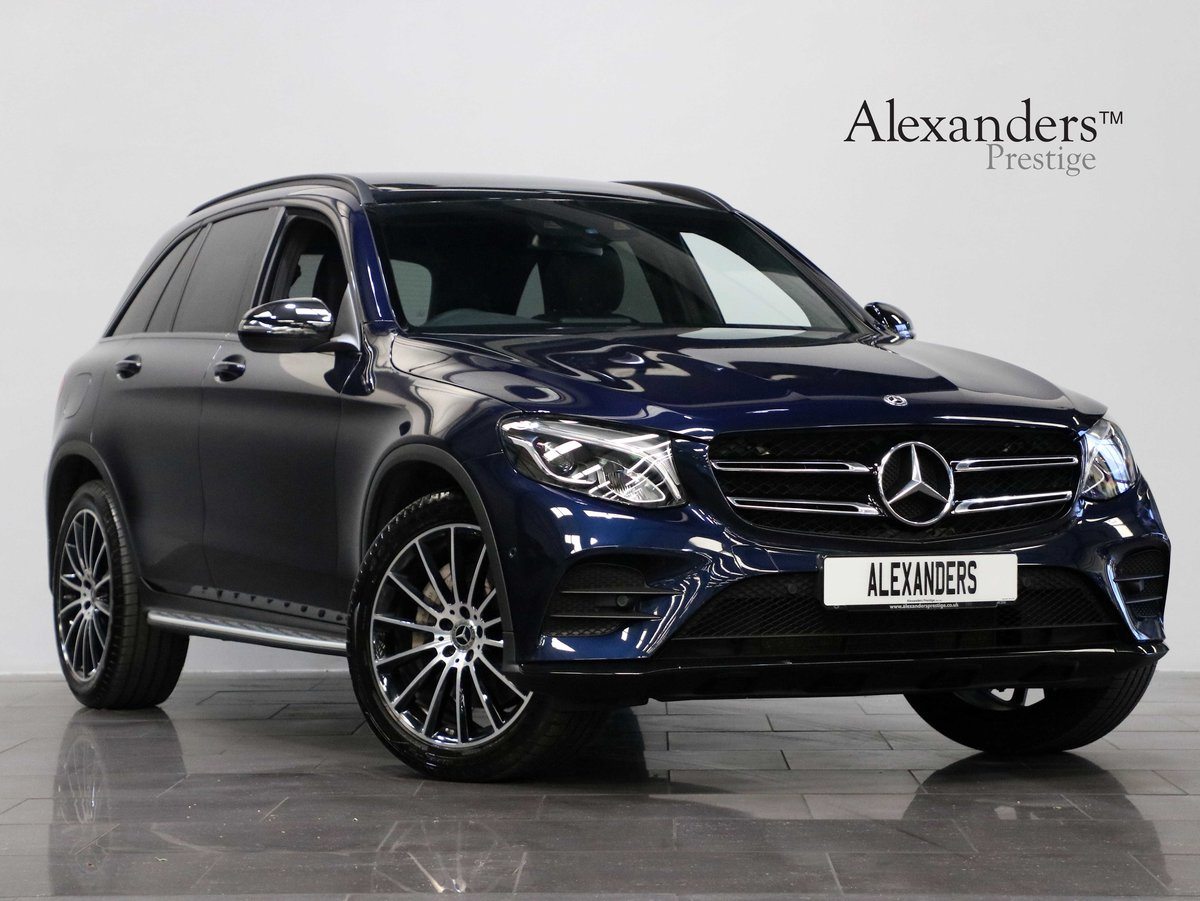 2019 19 19 MERCEDES BENZ GLC 250 AMG NIGHT EDITION AUTO For Sale (picture 1 of 6)