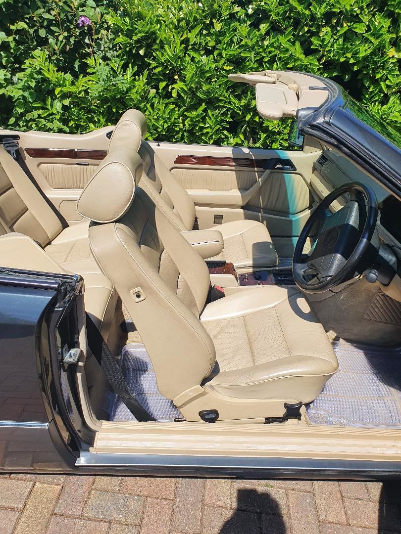 1994 Mercedes w124 e220 convertible/cabriolet For Sale (picture 4 of 6)