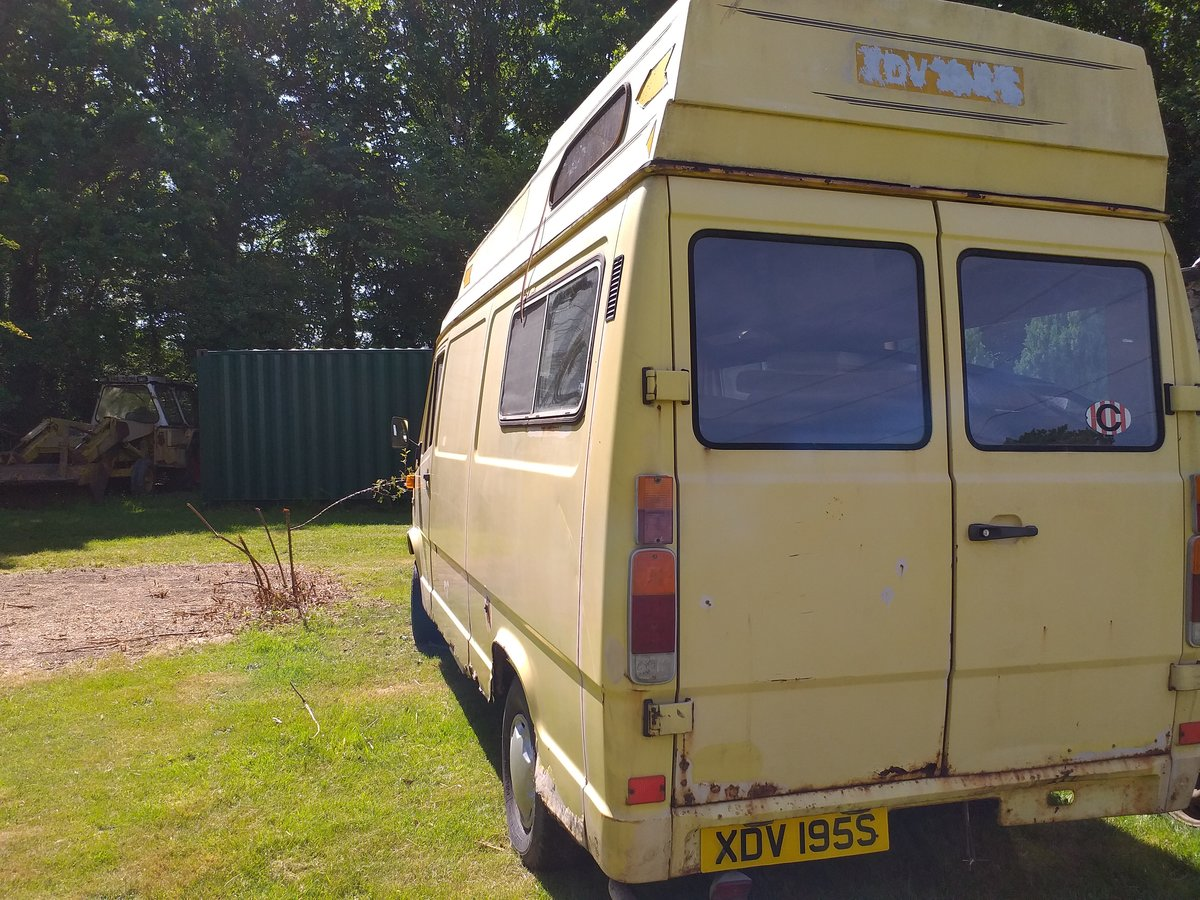 1978 Mercedes T1 207D Classic Camper Barn Find SOLD (picture 1 of 6)