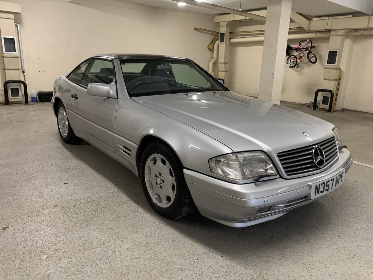 1996 Mercedes R129 SL500 Pano Roof 75k miles FSH  SOLD (picture 2 of 6)