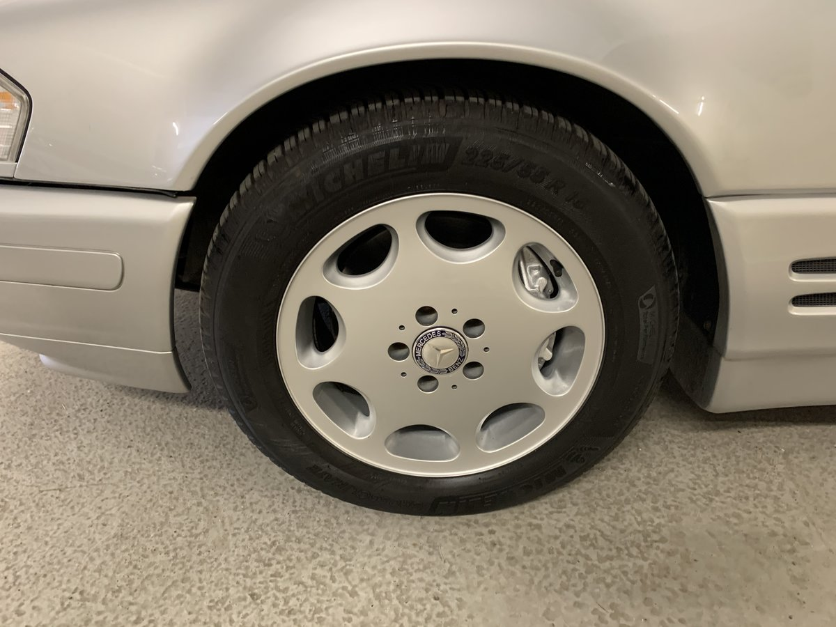 1996 Mercedes R129 SL500 Pano Roof 75k miles FSH  SOLD (picture 6 of 6)