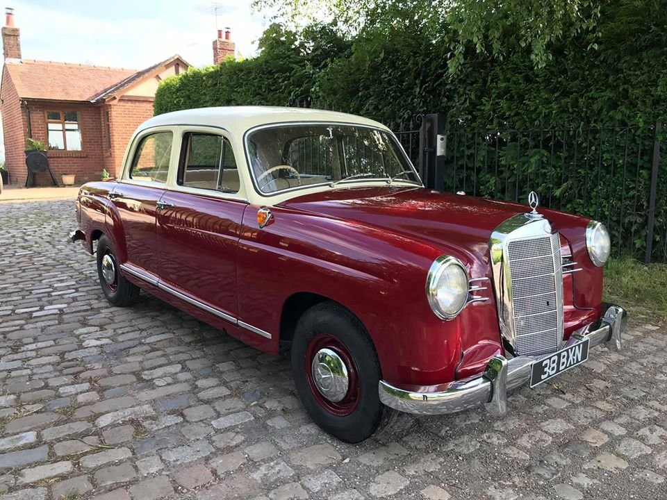 1961 Mercedes 190B Ponton RHD For Sale (picture 1 of 6)