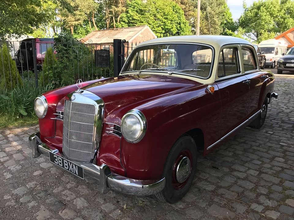 1961 Mercedes 190B Ponton RHD For Sale (picture 2 of 6)