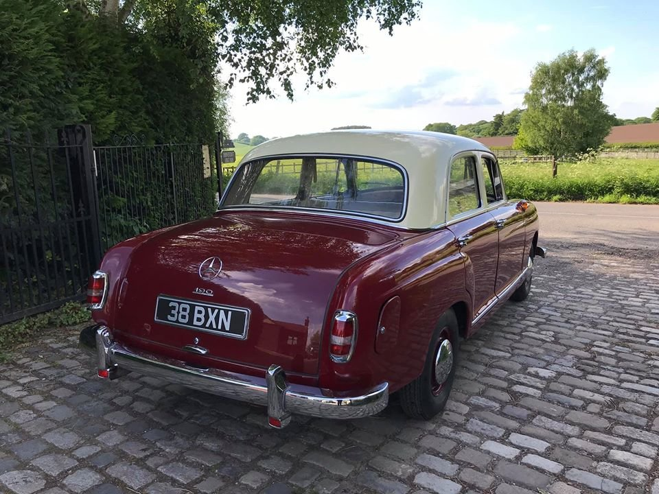 1961 Mercedes 190B Ponton RHD For Sale (picture 3 of 6)