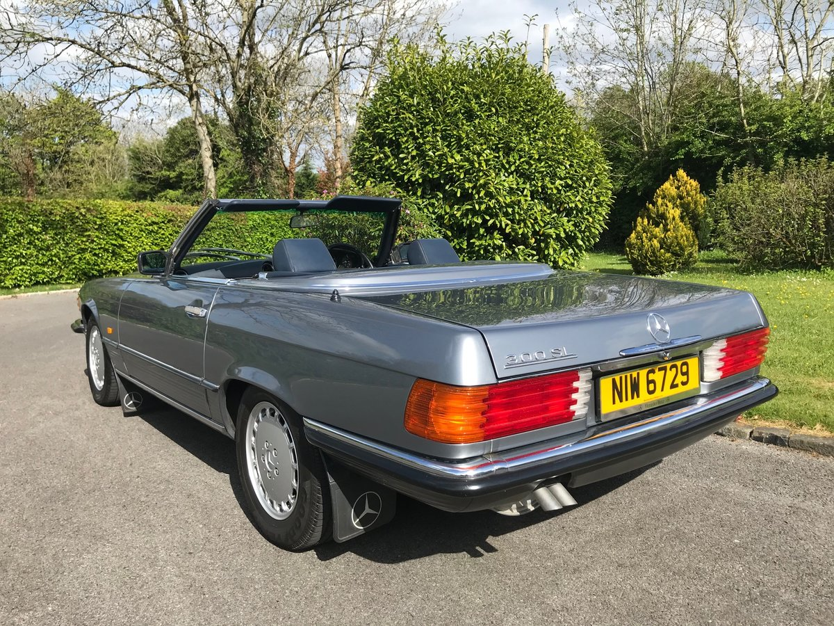 1988 Mercedes 300 SL - R107 - Pearl Grey SOLD (picture 2 of 6)