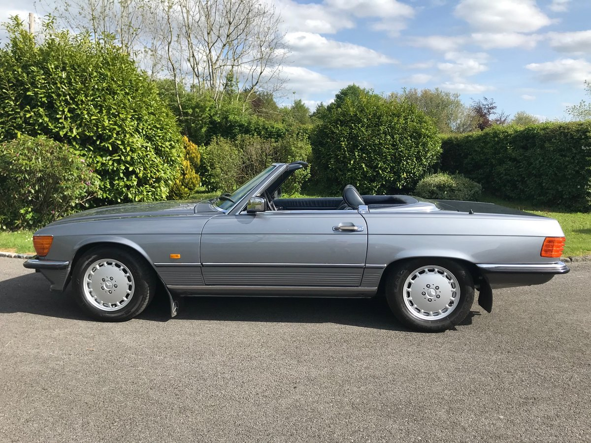 1988 Mercedes 300 SL - R107 - Pearl Grey SOLD (picture 3 of 6)