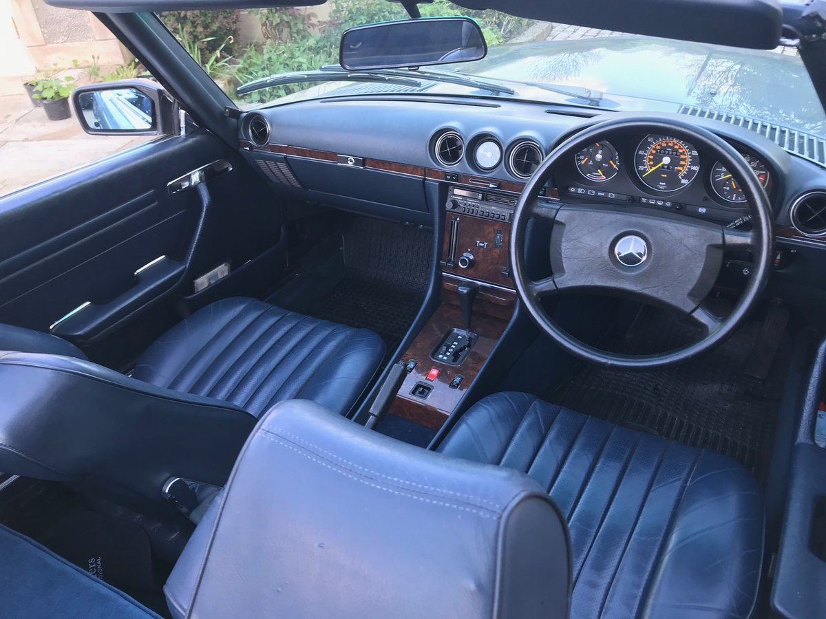1988 Mercedes 300 SL - R107 - Pearl Grey SOLD (picture 5 of 6)
