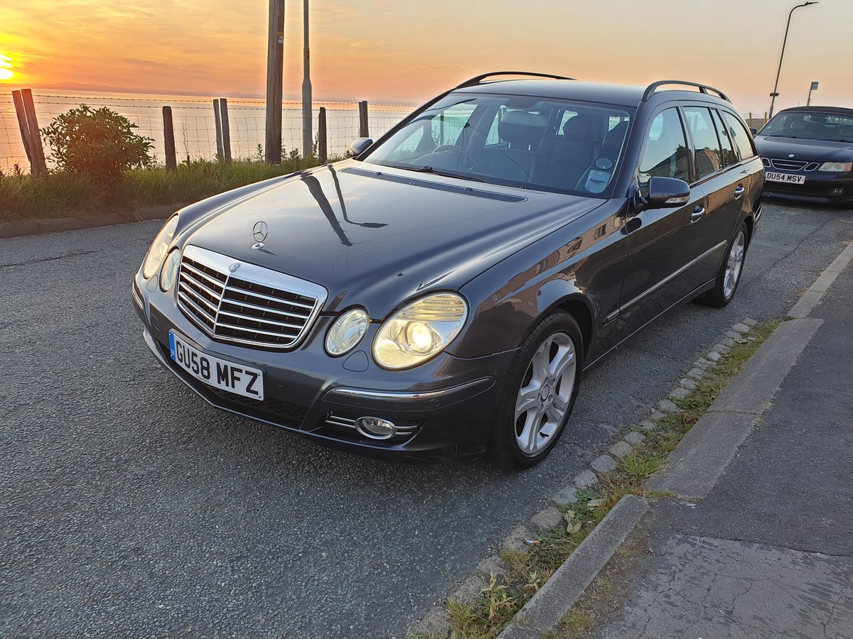 2009 Mercedes-Benz E280 CDI Avantgarde 7G, 76k For Sale (picture 1 of 6)