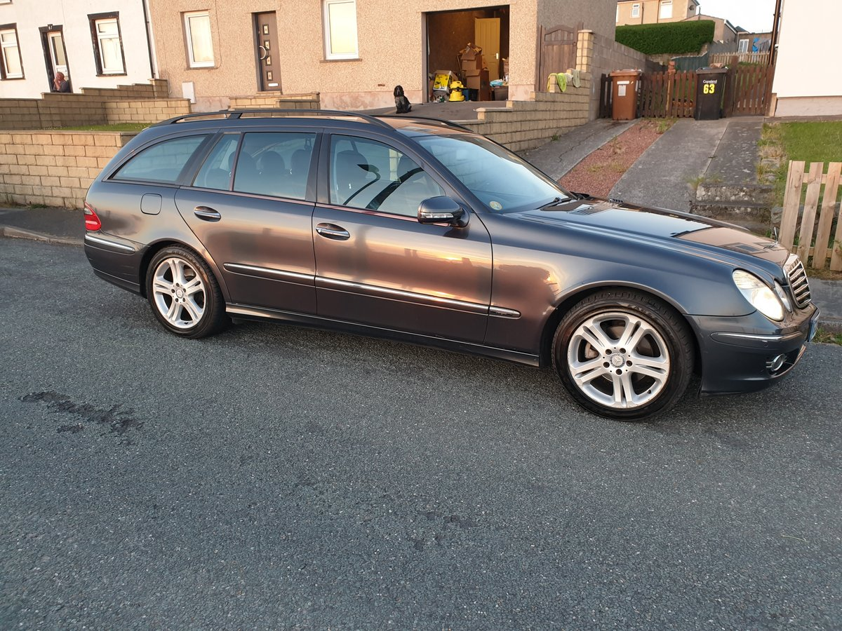 2009 Mercedes-Benz E280 CDI Avantgarde 7G, 76k For Sale (picture 2 of 6)