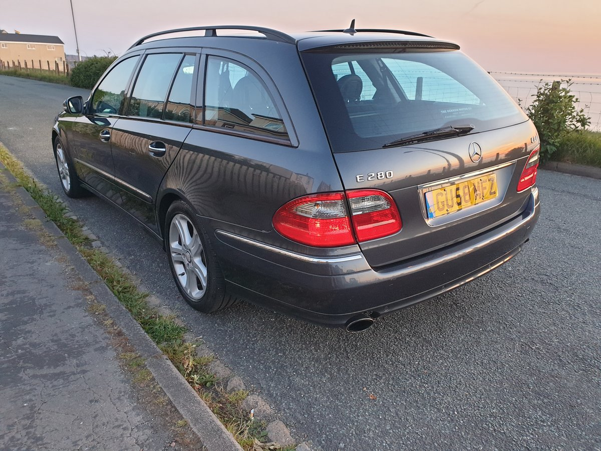 2009 Mercedes-Benz E280 CDI Avantgarde 7G, 76k For Sale (picture 4 of 6)