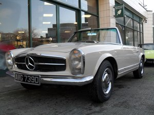 1966 Mercedes Benz 230SL  Pagoda one family owner from new