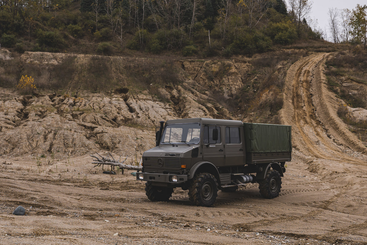 1998 Mercedes-Benz Unimog U 1550L  For Sale (picture 1 of 6)