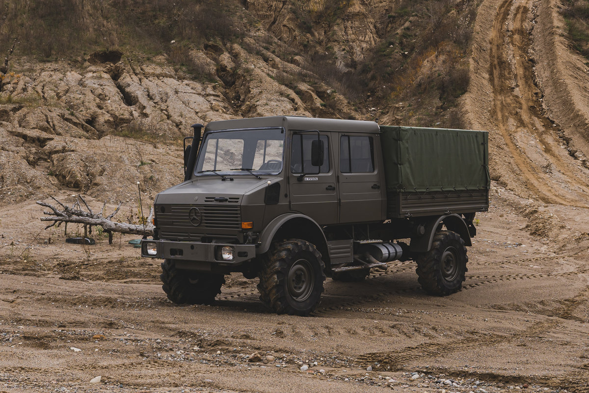1998 Mercedes-Benz Unimog U 1550L  For Sale (picture 3 of 6)