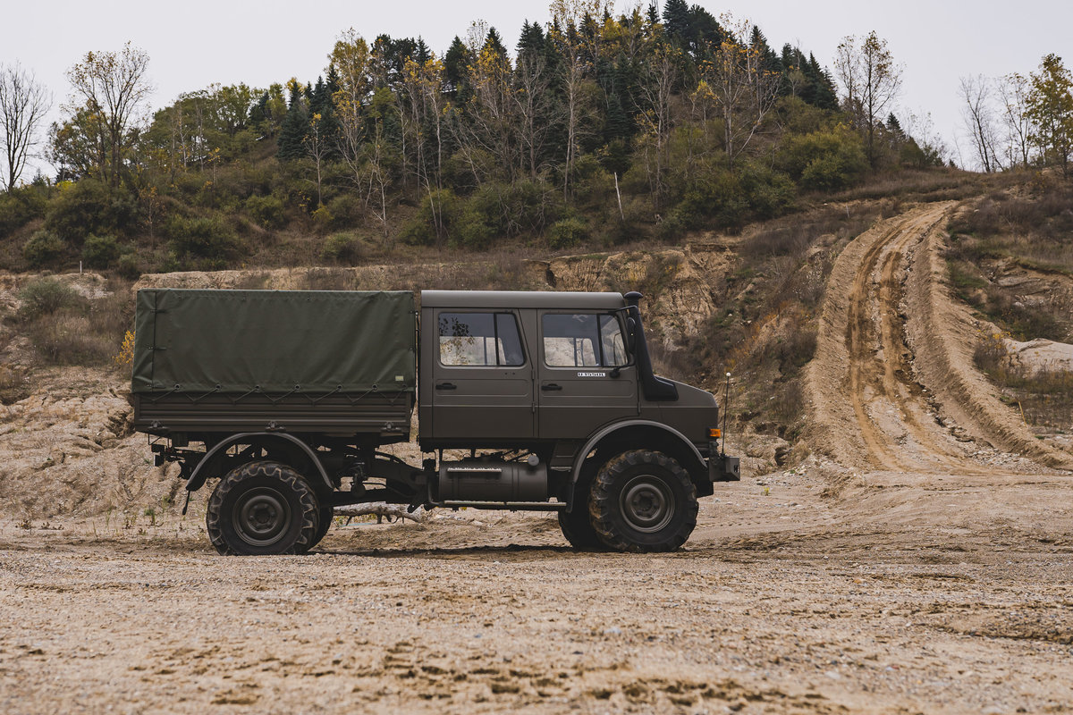 1998 Mercedes-Benz Unimog U 1550L  For Sale (picture 4 of 6)