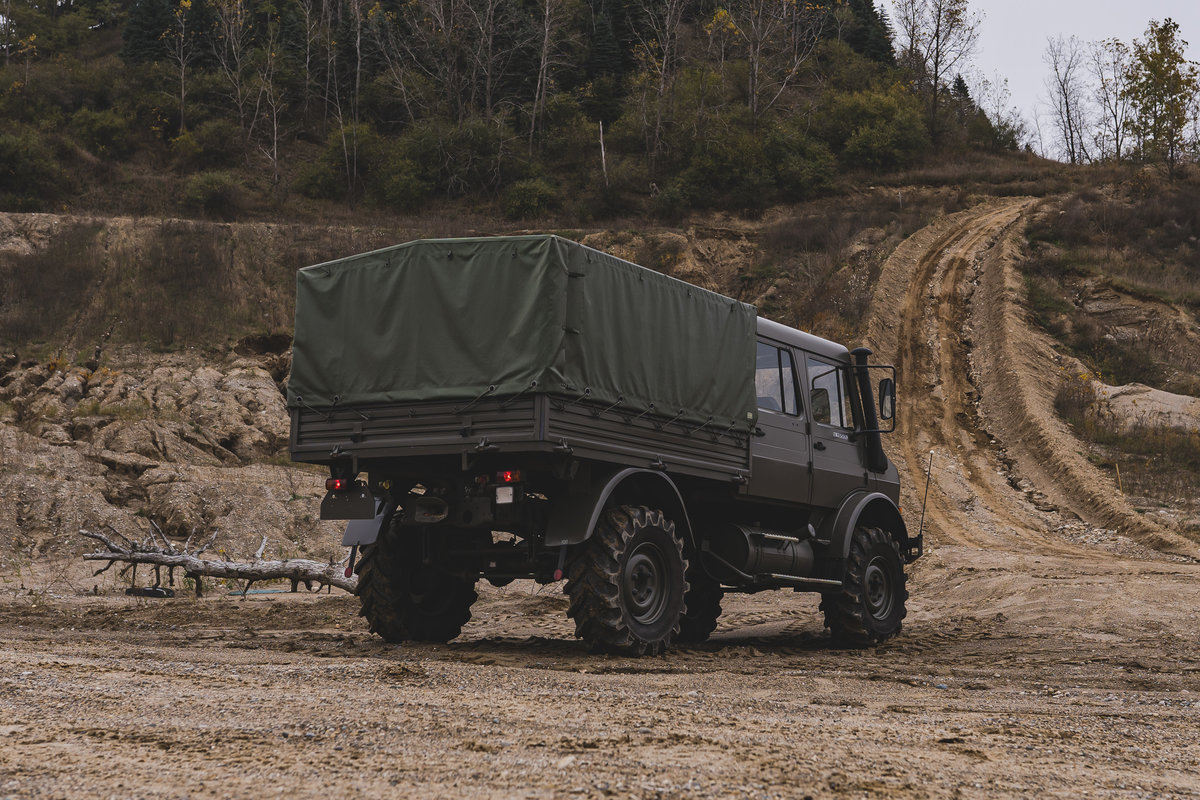 1998 Mercedes-Benz Unimog U 1550L  For Sale (picture 6 of 6)