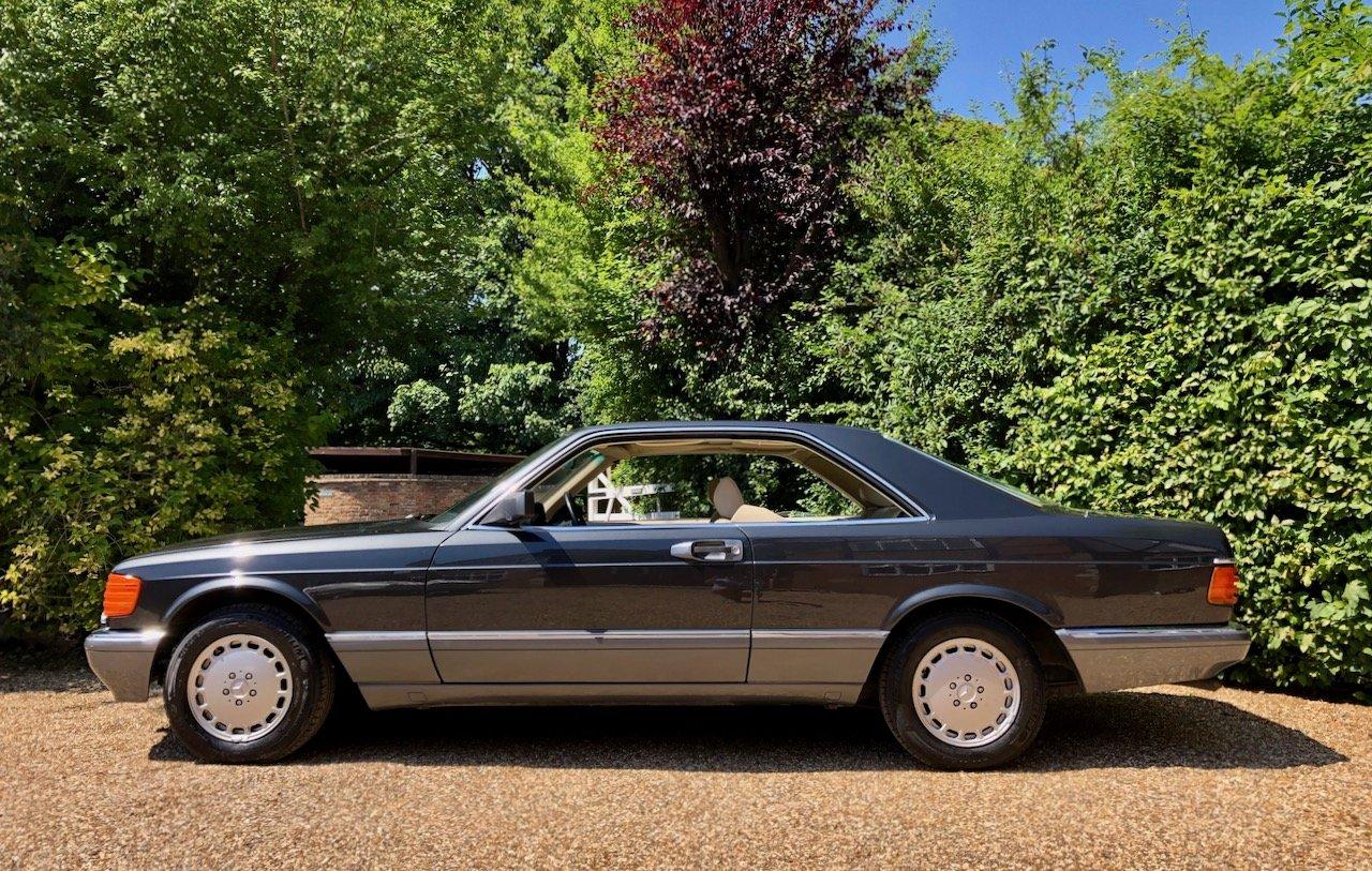 1989 **DEPOSIT TAKEN** Mercedes 500SEC C126 560SEC 420 SEC For Sale (picture 1 of 6)
