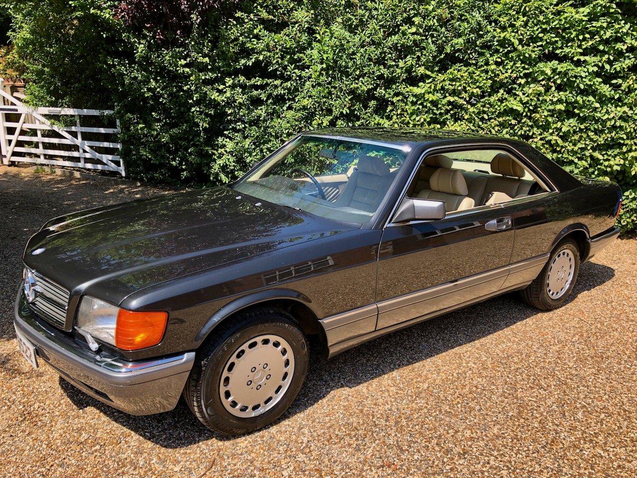 1989 **DEPOSIT TAKEN** Mercedes 500SEC C126 560SEC 420 SEC For Sale (picture 3 of 6)