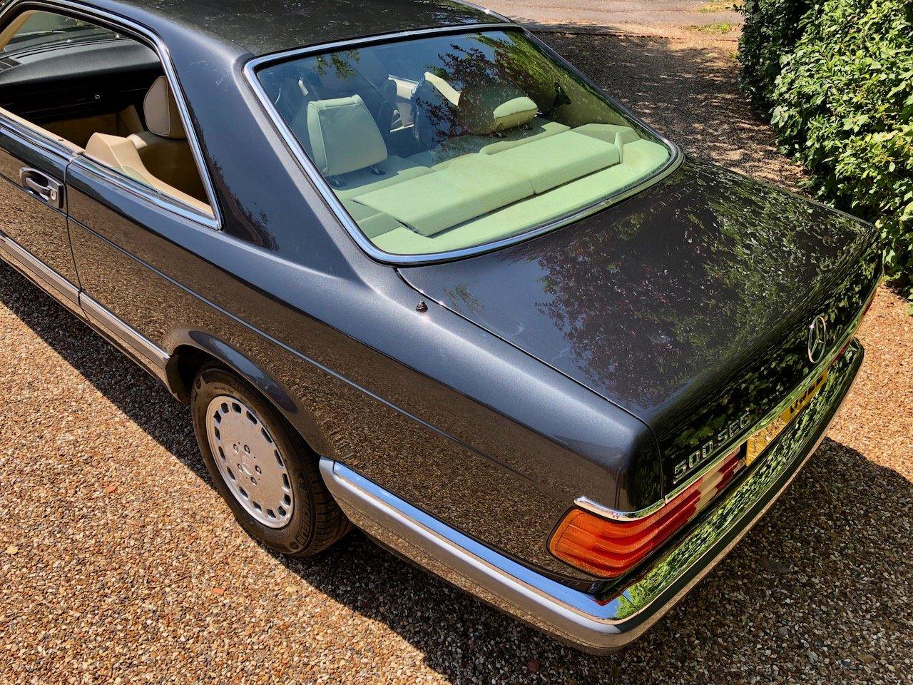 1989 **DEPOSIT TAKEN** Mercedes 500SEC C126 560SEC 420 SEC For Sale (picture 4 of 6)
