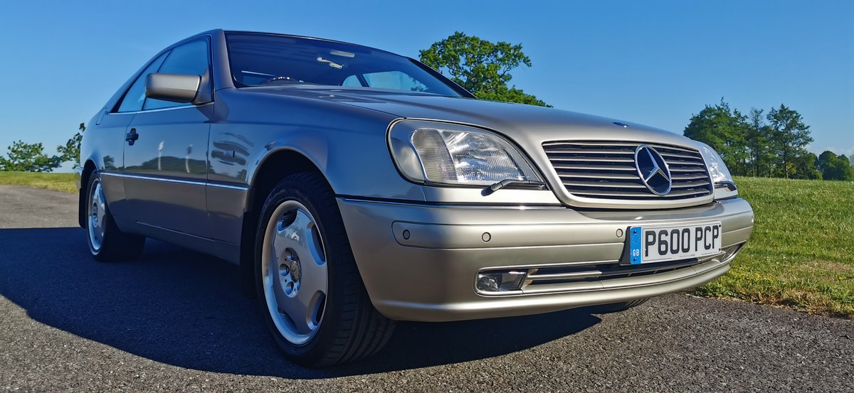 1996 Mercedes cl600 cl 600 v12 w140 series coupe For Sale (picture 1 of 6)