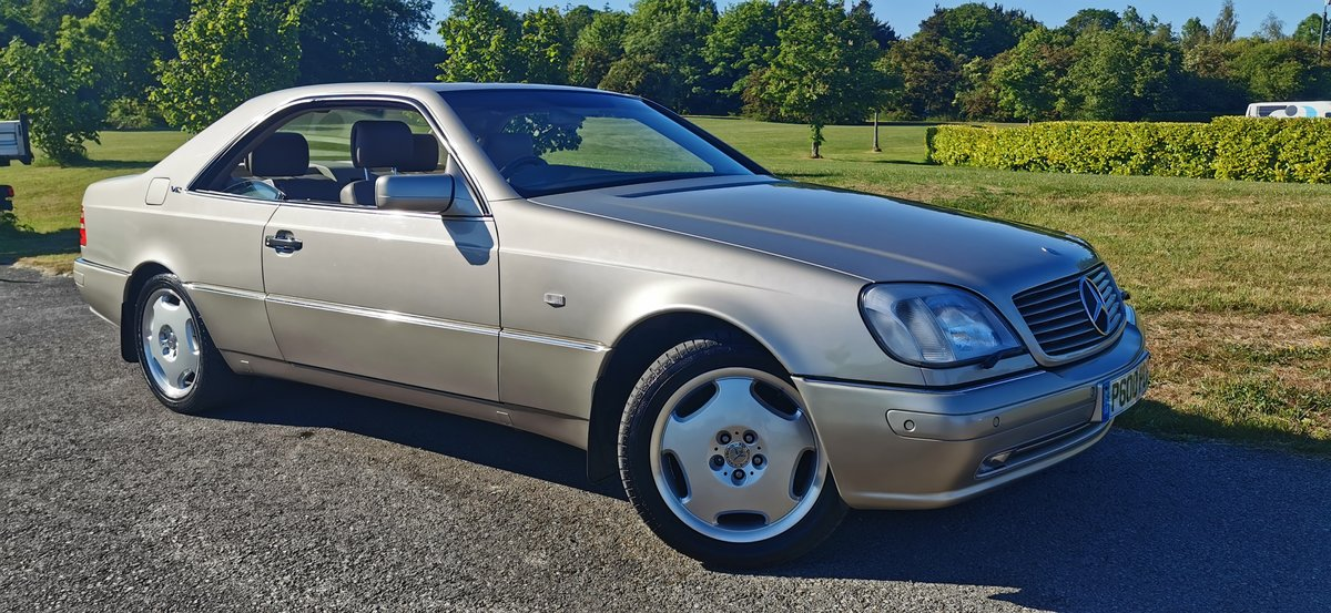 1996 Mercedes cl600 cl 600 v12 w140 series coupe For Sale (picture 2 of 6)