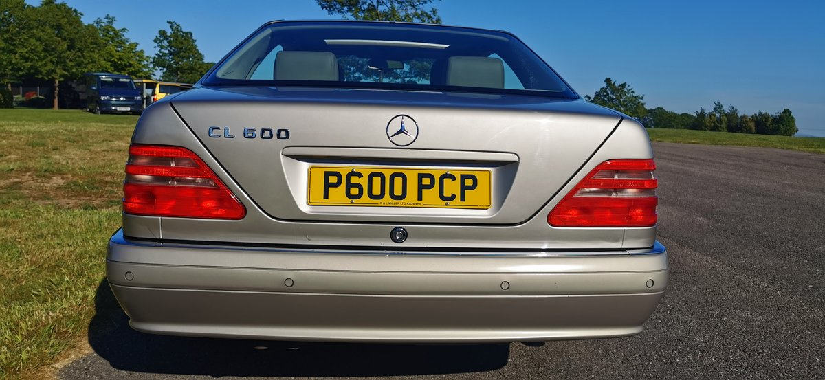 1996 Mercedes cl600 cl 600 v12 w140 series coupe For Sale (picture 4 of 6)
