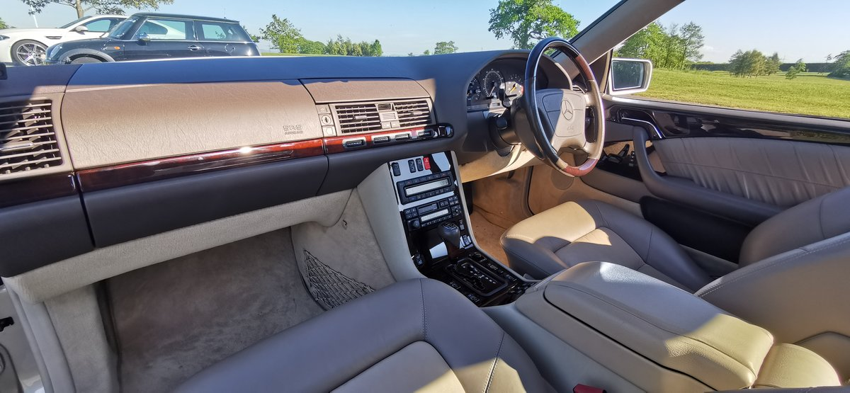 1996 Mercedes cl600 cl 600 v12 w140 series coupe For Sale (picture 5 of 6)