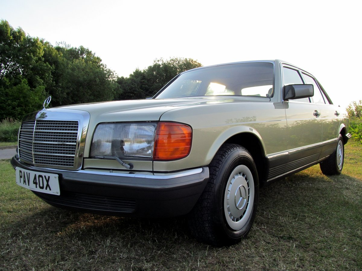 1981 Mercedes 380SE Original one owner, 56k miles only. For Sale (picture 1 of 6)
