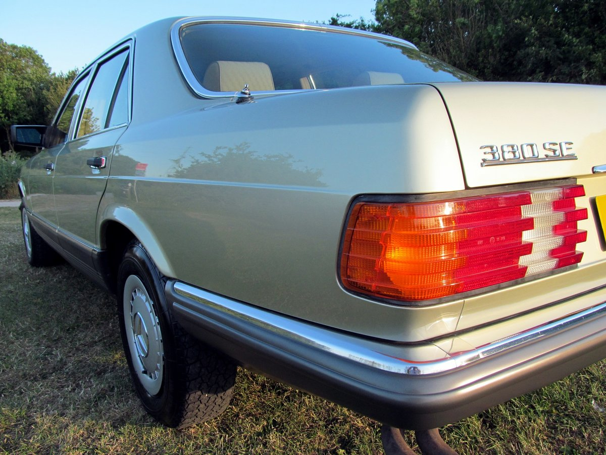 1981 Mercedes 380SE Original one owner, 56k miles only. For Sale (picture 2 of 6)