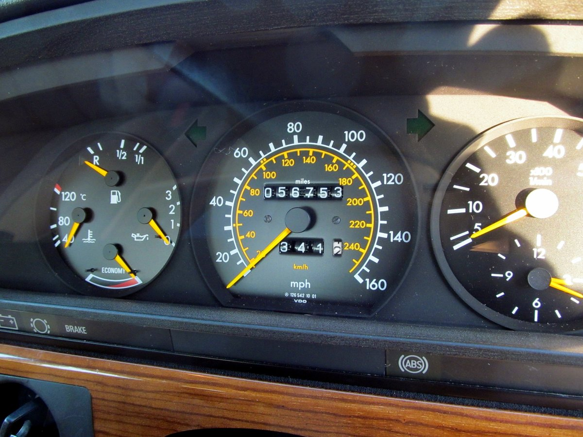 1981 Mercedes 380SE Original one owner, 56k miles only. For Sale (picture 5 of 6)
